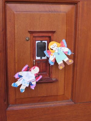 Urban Fairies, fairy doors, fairy door, Fairies, fairy doors of Ann Arbor, original fairy doors, fairy door The Ark, flat fairies