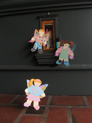Urban Fairies, fairy doors, fairy door, Fairies, fairy doors of Ann Arbor, original fairy doors, Peaceable Kingdom, fairy store, flat fairies