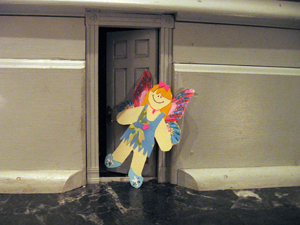 fairy, fairy door, fairy doors, faery, faery door, faery doors, fairy doors of Ann Arbor, The first fairy door, 1st fairy door, flat fairy