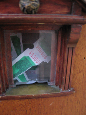 Urban Fairies, fairy doors, fairy door, Fairies, fairy doors of Ann Arbor, original fairy doors, fairy door The Ark, fairy ticket window