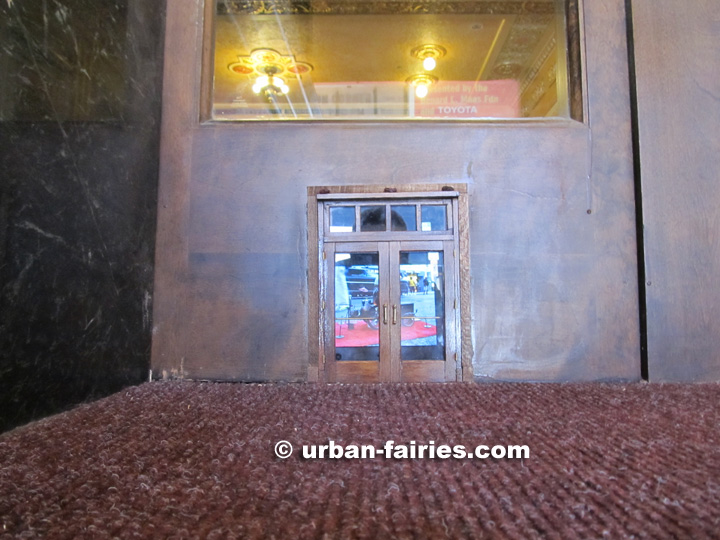 Urban Fairies Fairy Doors The Michigan Theater Ann