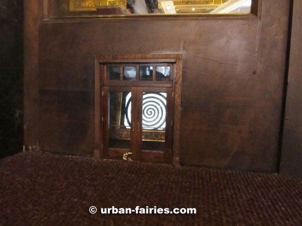 The message seemed a bit out of  character  for the urban-fairies and suspect that they had outside help. & Urban Fairies. fairy doors The Michigan Theater Ann Arbor MI
