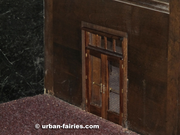 A little bit closer now. & Urban Fairies. fairy doors The Michigan Theater Ann Arbor MI pezcame.com